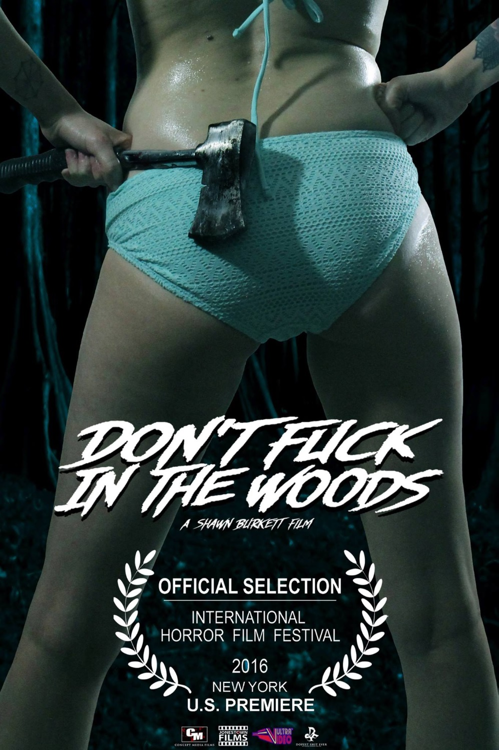 18+ Don't Fuck in the Woods (2016) English 1080p HDRip x264 ESubs