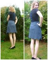 Colette Patterns Meringue Skirt & Deer & Doe Plantain Top