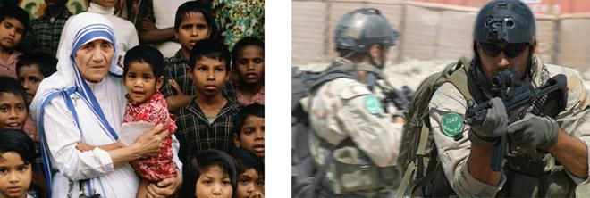 Operatori di pace a confronto / parte 1