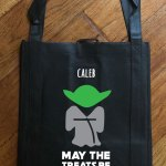 "Trick or Treat Bag - Glow in the Dark ""Yoda"""
