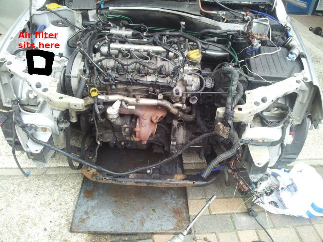 Opelvauxhall Vectra C 19 CDTI (Z19DTH) engine overview – after hours coding