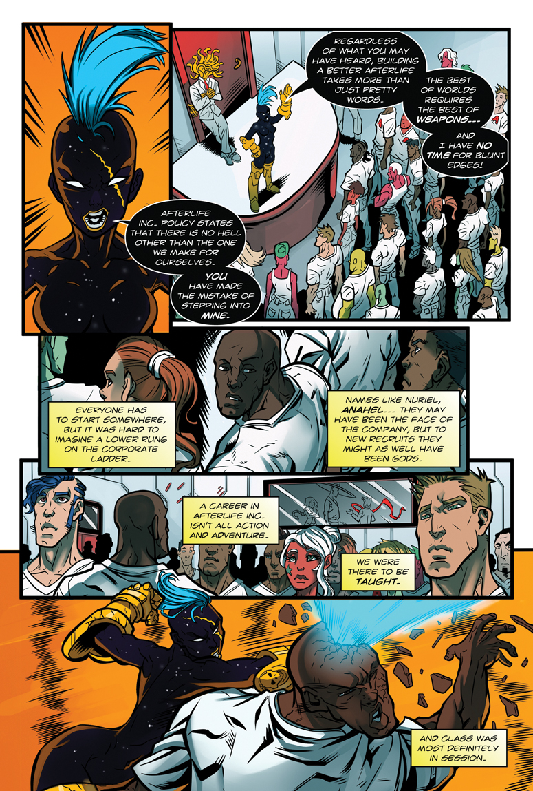 Afterlife Inc. Man Made God Page 7