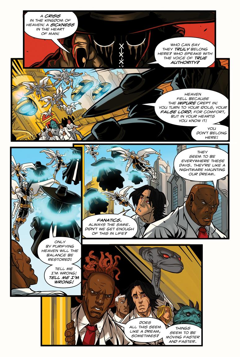 Afterlife Inc. Volume 4: Man Made God Page 13
