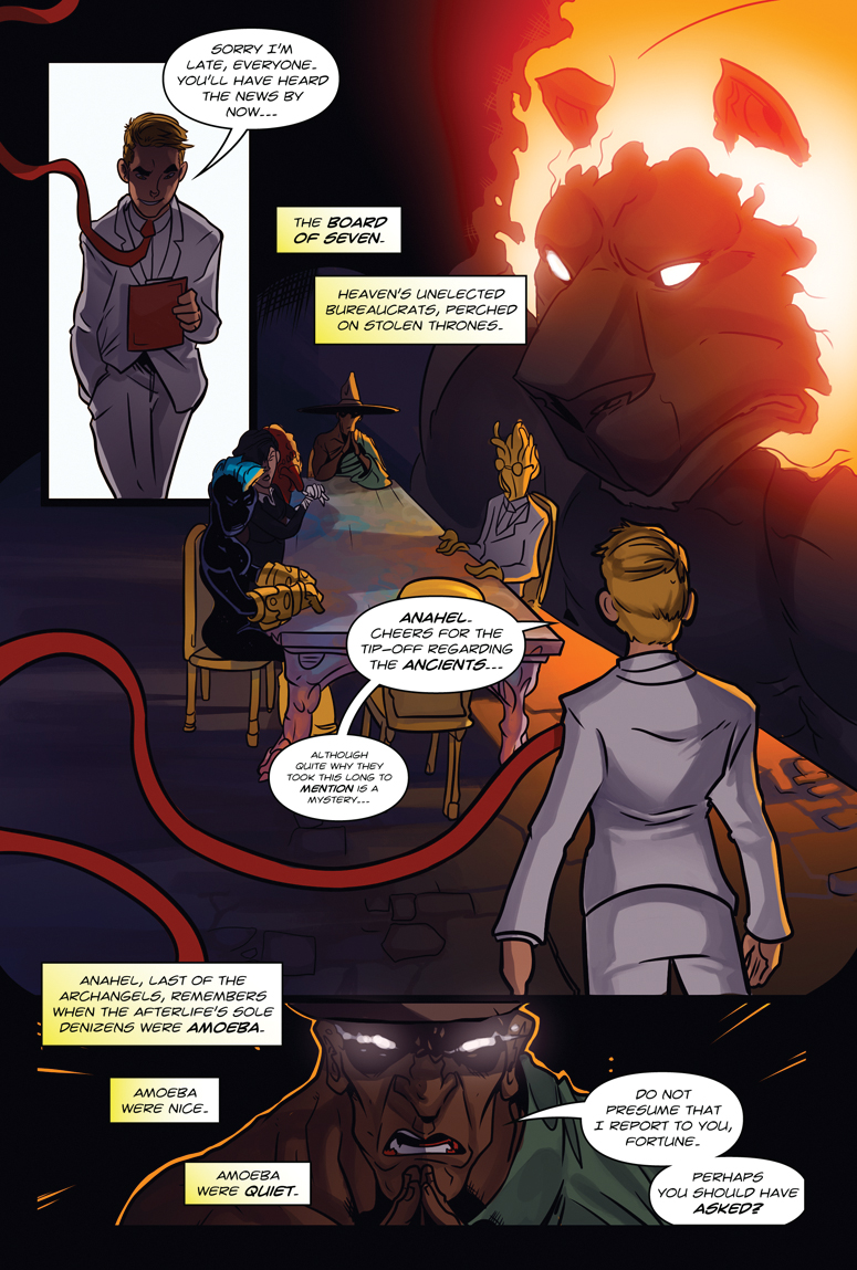 Afterlife Inc. Volume 4: Man Made God Page 34