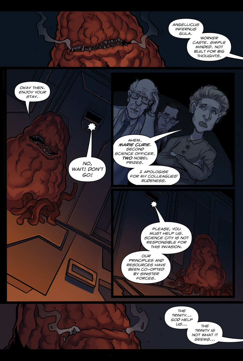 Afterlife Inc. Volume 4: Man Made God Page 56