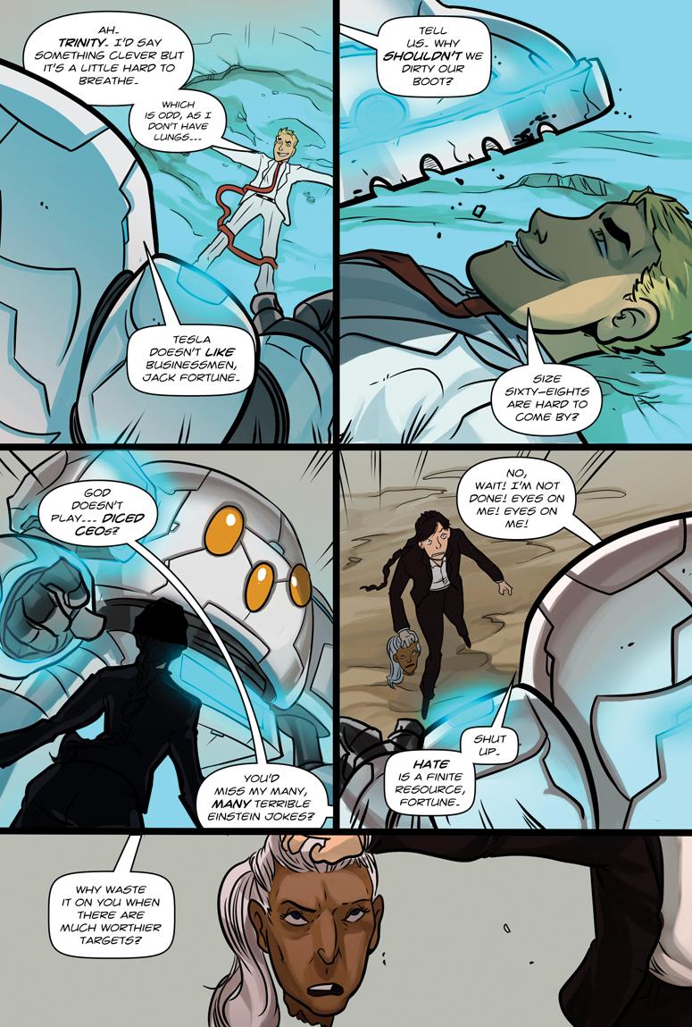 Afterlife Inc. Volume 4: Man Made God Page 58