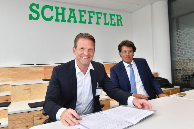 Schaeffler und SAP rücken zusammen