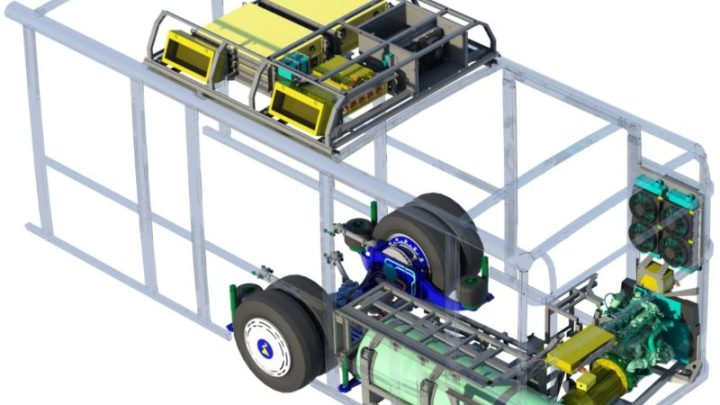 Patentierter Antrieb macht kommunalen Nahverkehr CO2 neutral