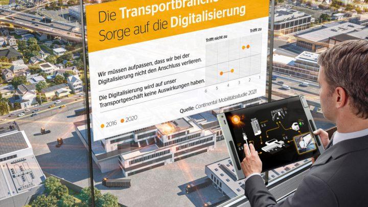 Transportunternehmen fürchten, den Anschluss an die Digitalisierung zu verpassen