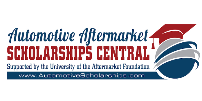 This is the Automotive Aftermarket Scholarship Central logo.