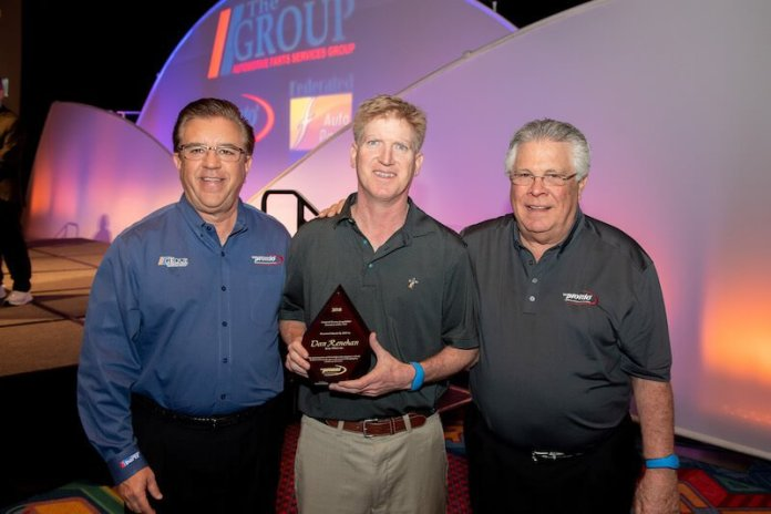 Frank Garcia - XL Parts and current Pronto Chairman of the Board, Dan Renehan – Stone Wheel and immediate past Pronto Chairman of the Board, and Murray Sullivan – National Pronto Association.