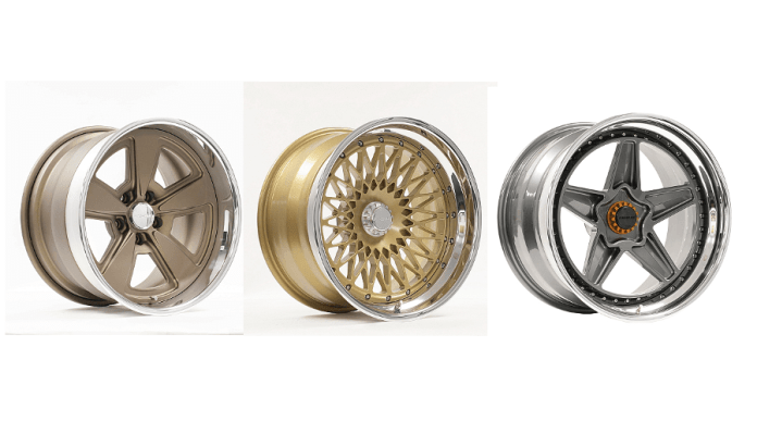 These three new retro style designs expand the company's already large line of wheels, offering more choices in classic-inspired wheels.