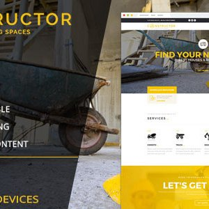 Constructor Muse template