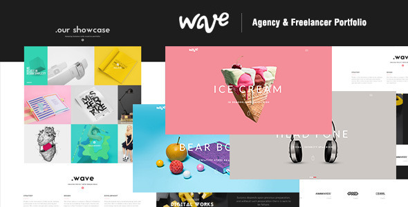 Wave Muse template