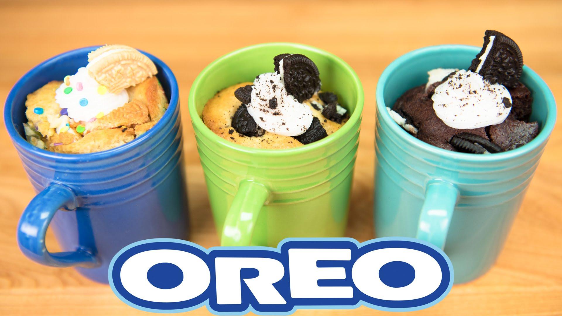 how about making these oreo mug cakes