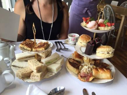 Amazing selection of food.