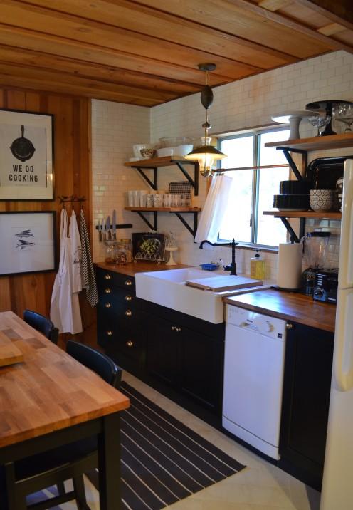 My Log Cabin Kitchen Renovation