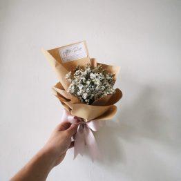 Petite Dry Flower Bouquet by AFTERRAINFLORIST
