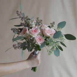 Simplicity Style Bridal Bouquet by AFTERRAINFLORIST