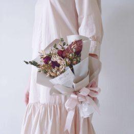 Dried Bouquet by AFTERRAINFLORIST