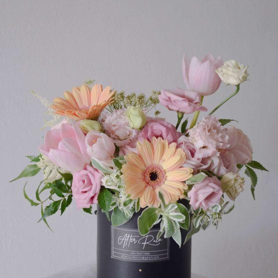 Merry Love Pastel Fresh Flower Box by AfterRainFlorist, PJ Florist