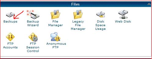Backups Hostgator cPanel