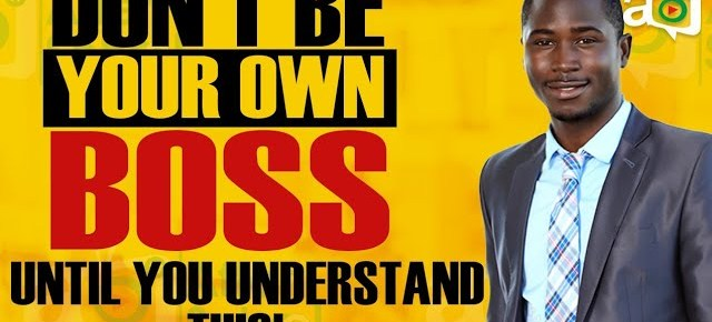 """Why """"Be Your Own Boss"""" is a Deceptive Movement"""