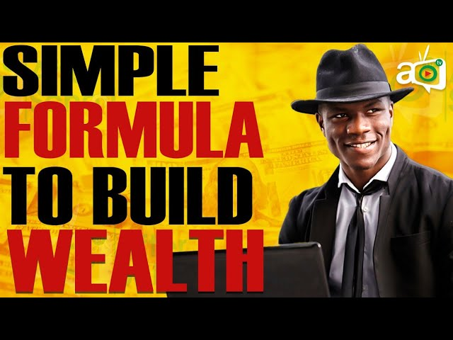 The Simple Formula to Achieve Financial Success