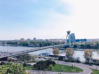 UFO Bridge inBratislava