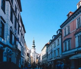 St. Michael's Gate in Bratislava