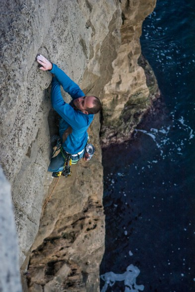 Chris Weedon on the first ascent of 'Now or Never'