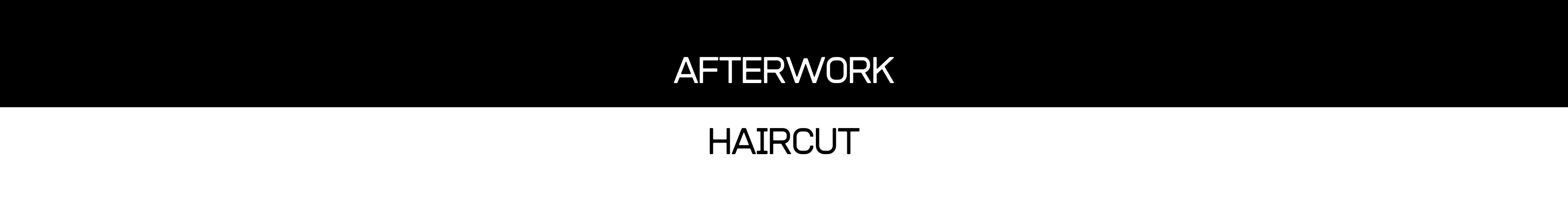website logo afterwork haircut friseur in wien 1. bezirk