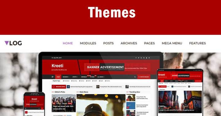 Videography WordPress themes