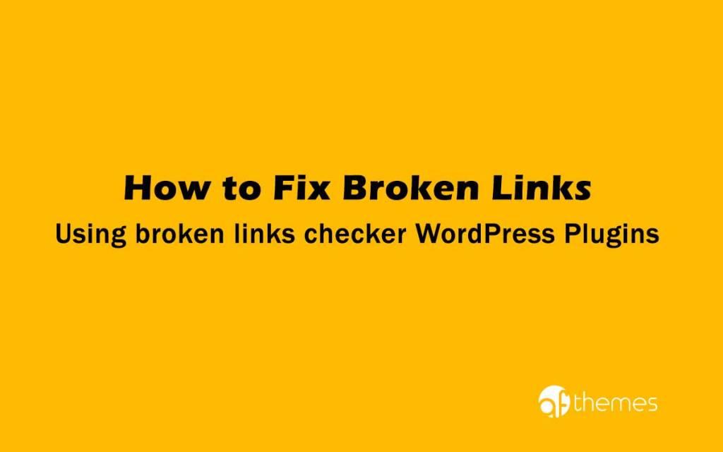 broken links checker WordPress Plugins