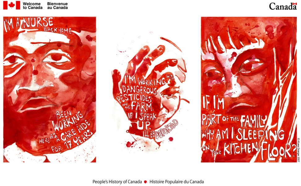 Afuwa - Welcome to Canada - Bienvenue au Canada