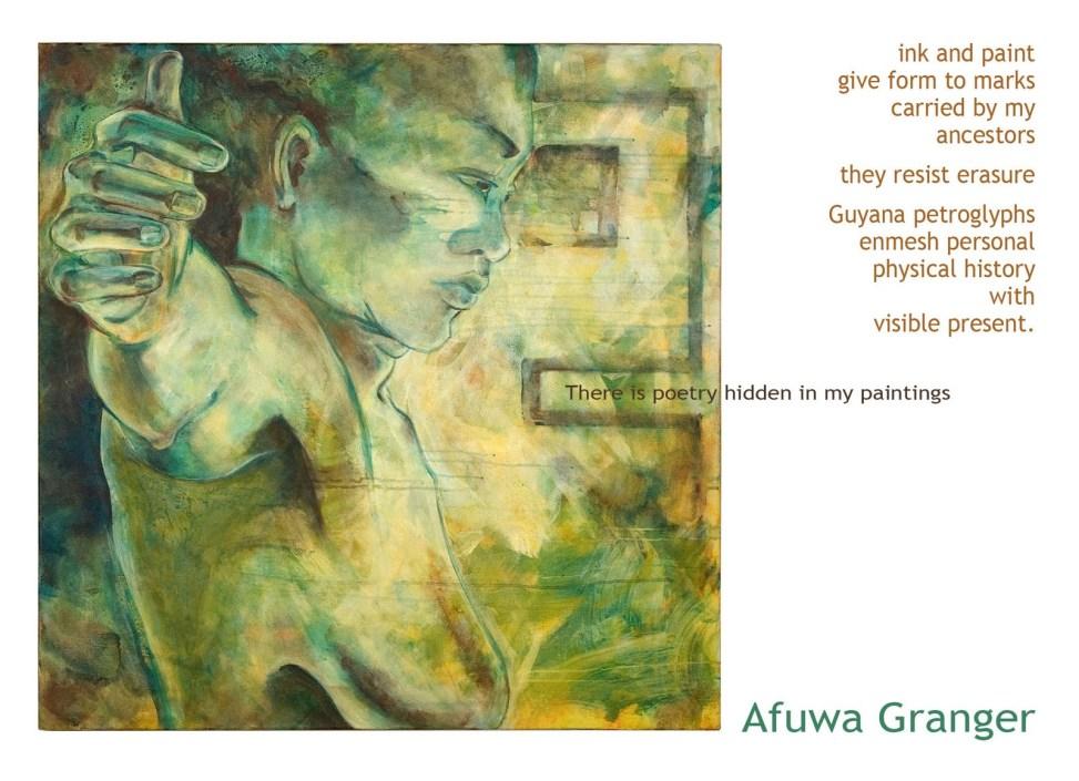 Afuwa postcard Guyanese petroglyph