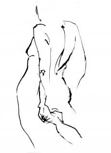 Afuwa Granger Nude turning