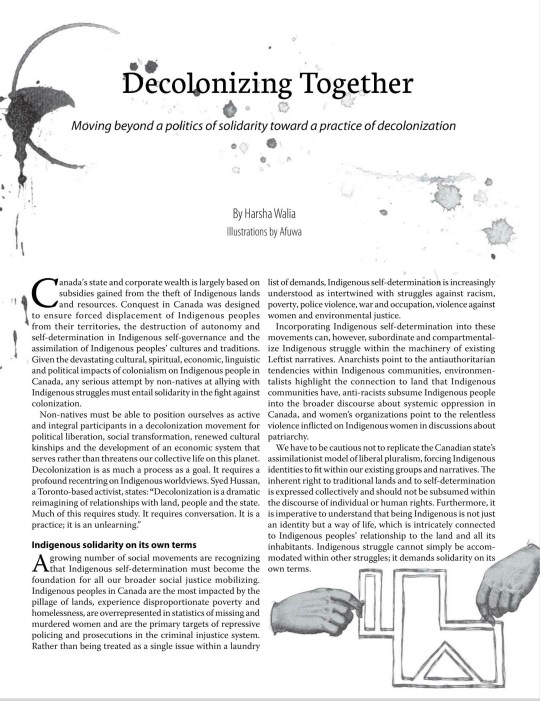 Afuwa - Illustrating indigenous solidarity