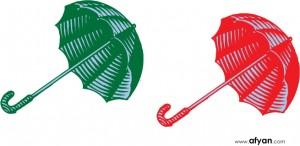 payung-hijau-payung-merah