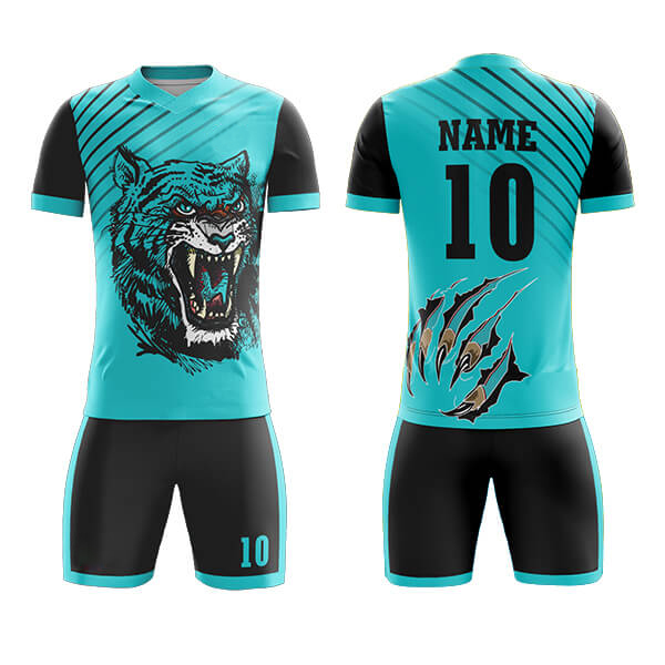 Club Sublimation Soccer Kits with Lion Printing AFYM:2005