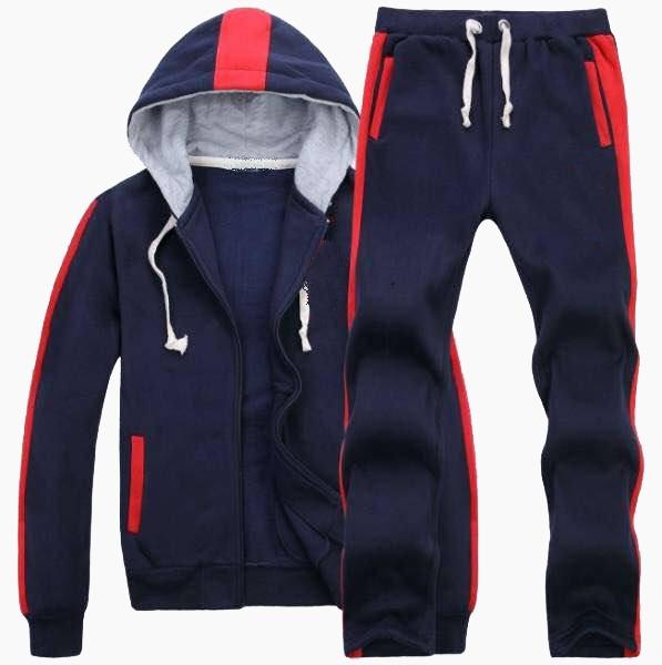 Custom Jogging Men Sportswear Hooded Track Suit / AFYM:1001