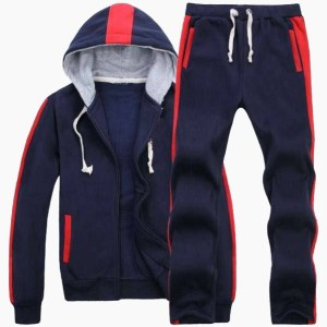 Custom Jogging Men Sportswear Hooded Track Suit / AFYM:1001