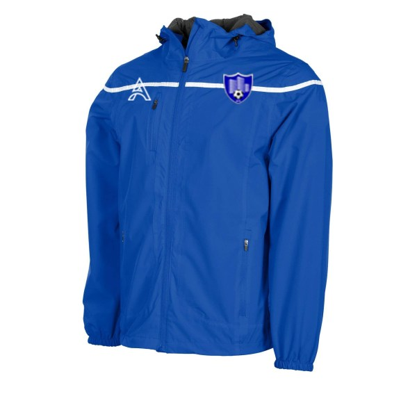 Varssity Blue Rain Jacket with Center Lining AFYM-6011
