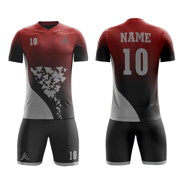 Sublimation Soccer Kits with Custom Trimming AFYM:2021