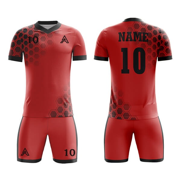 Sublimation Soccer Kits with Front and Back Printing AFYM:2023