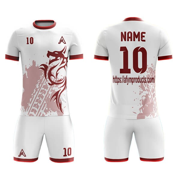 Sublimation Soccer Kits with Front Dragon Icon AFYM:2041