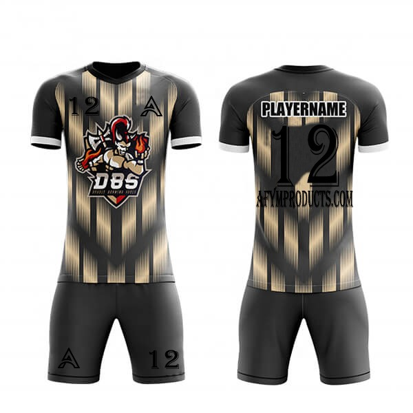 Front and Back Paneling Sublimation Soccer Kits AFYM:2050