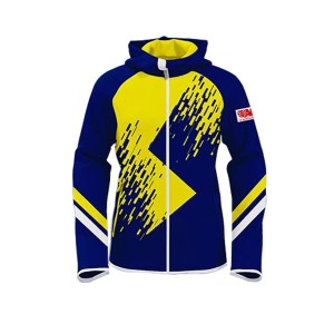 Blue with Yellow Art Club/Team Wear/League Sublimation Hoodie AFYM-5012