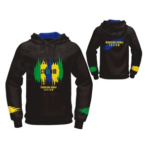 Black with Custom Sublimation Hoodie AFYM-5029