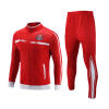 Red with White Paneling Sublimation Tracksuits AFYM:1027